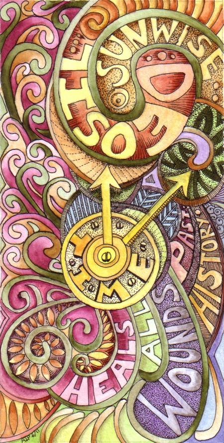 Time 1 © Angela Porter 2011