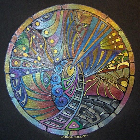 Mandala 23 Feb 20122©Angela Porter 23Feb2012