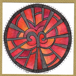 Aries Card A © Angela Porter 2012