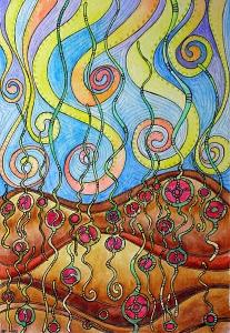 Planting Seeds of Love 9Apr12 © Angela Porter 2012