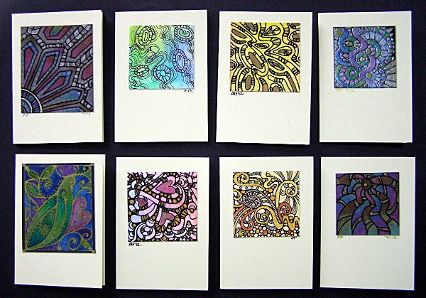 Greetings Cards 1 © Angela Porter 2012
