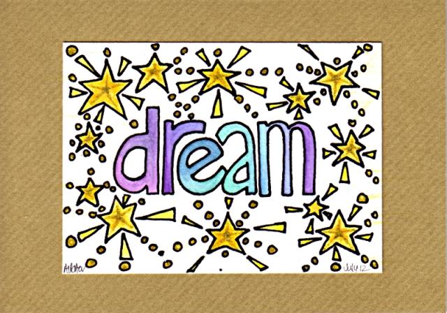 DreamCard1©Angela Porter 2012