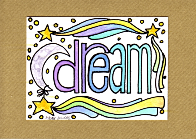 DreamCard2©Angela Porter 2012