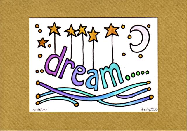 DreamCard3©Angela Porter 2012