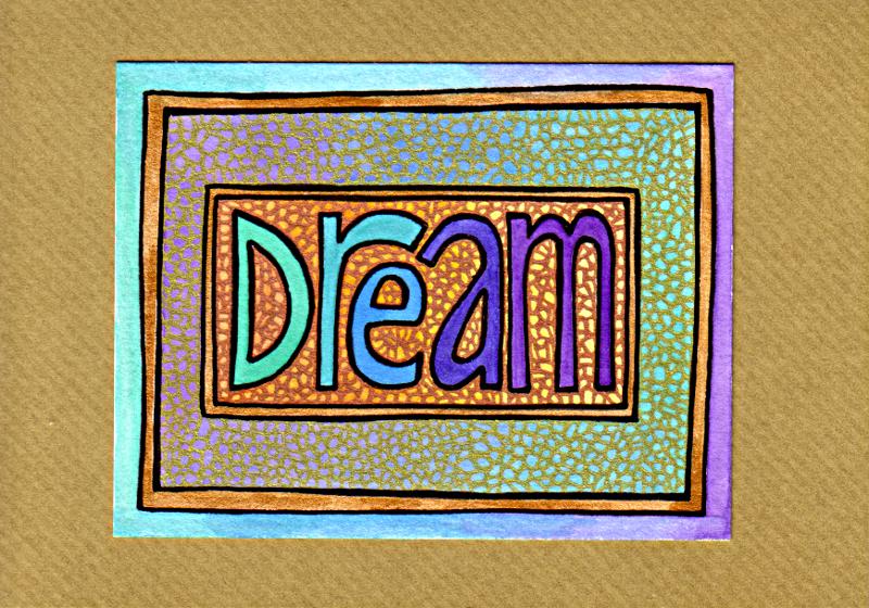 Dream Card 4 © Angela Porter