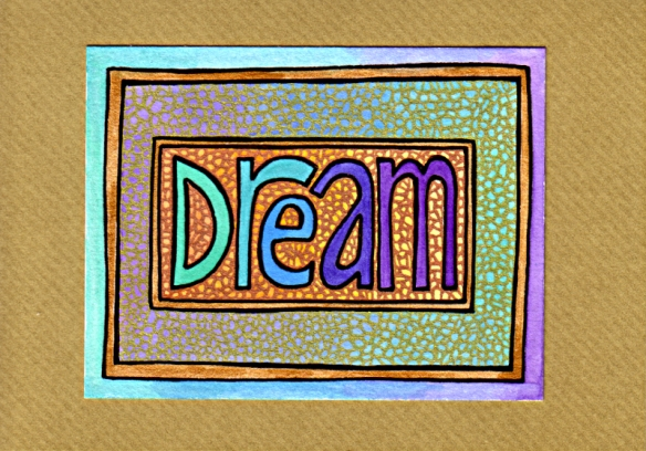 Dream Card 4 © Angela Porter