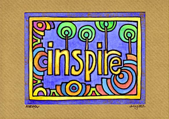 Inspire Card 1 © Angela Porter