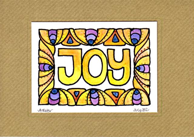 JoyCard1©Angela Porter 2012