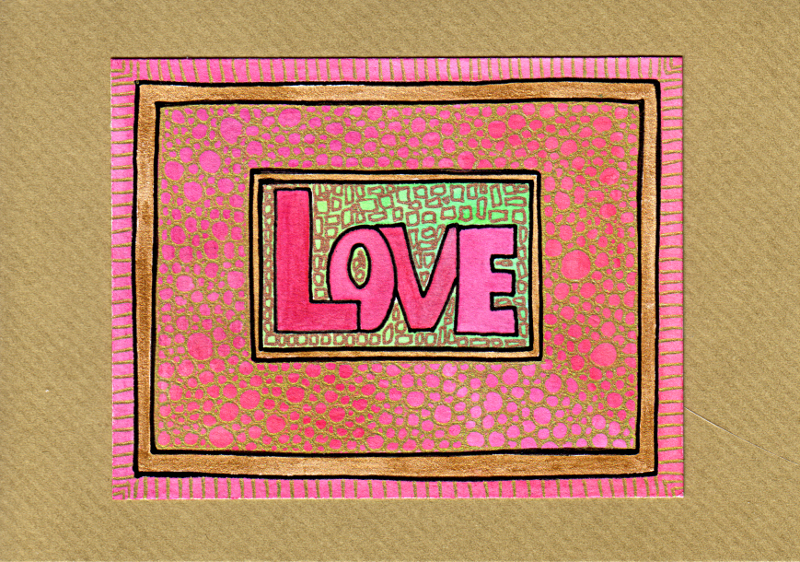 Love Card 2 © Angela Porter