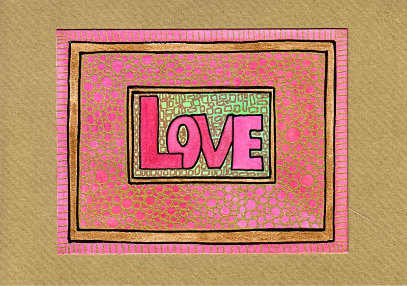 Love Card 2 © Angela Porter