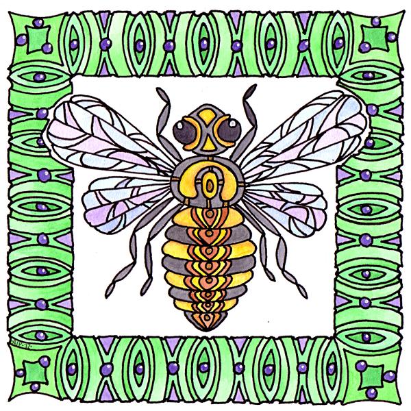 Bee © Angela Porter 2012