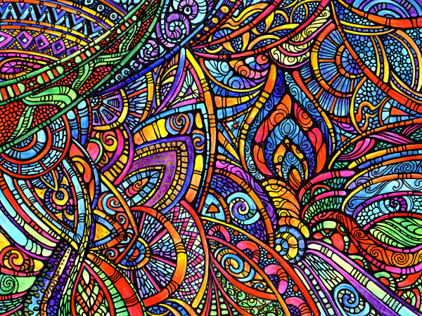 Theta 1 Coloured © Angela Porter 2013
