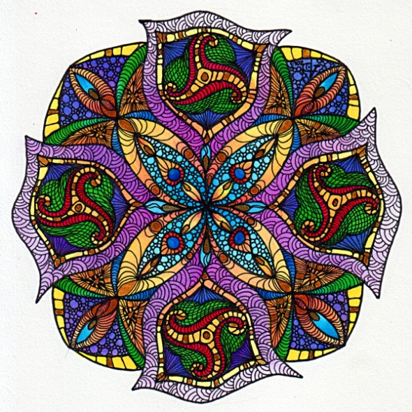 August Mandala 2 © Angela Porter 2013