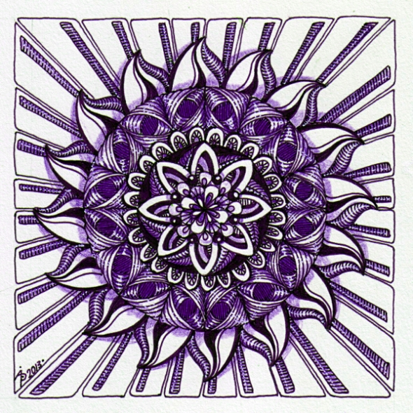 August Mandala 3 © Angela Porter 2013