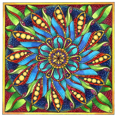 August Mandala 4 © Angela Porter 2013