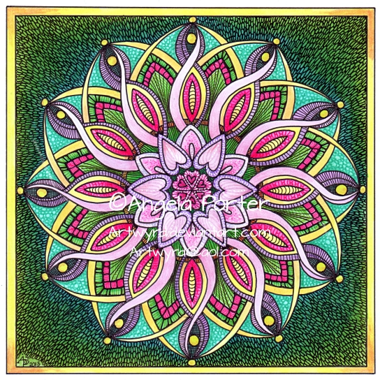 August Mandala 6 © Angela Porter 2013