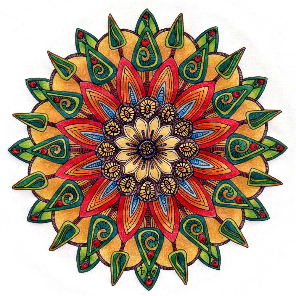 Mandala Angela Porter Illustrator