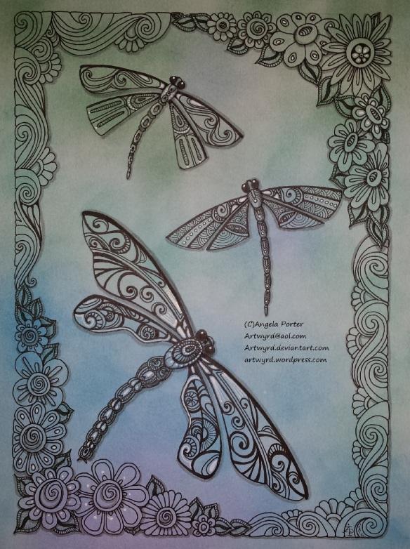 Dragonflies_AngelaPorter_Artwyrd_1 January 2015