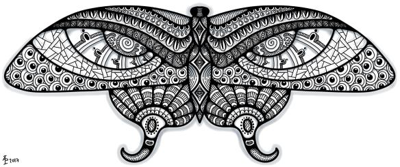 Butterfly 8 patterned_AngelaPorter_16June2017
