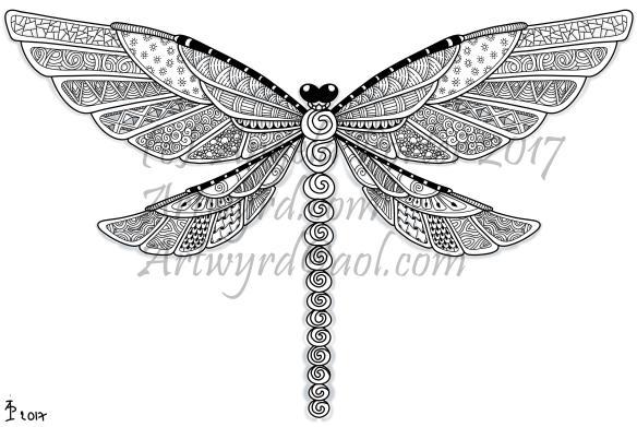 Dragonfly13patterned_AngelaPorter_17June2017