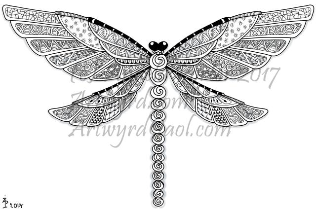 Dragonfly13patterned_AngelaPorter_17June2017