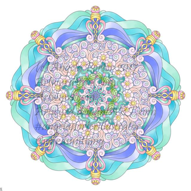 Angela Porter mandala 17 July 2018 watermarked