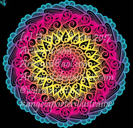 Rainbow Mandala05-Angela Porte1