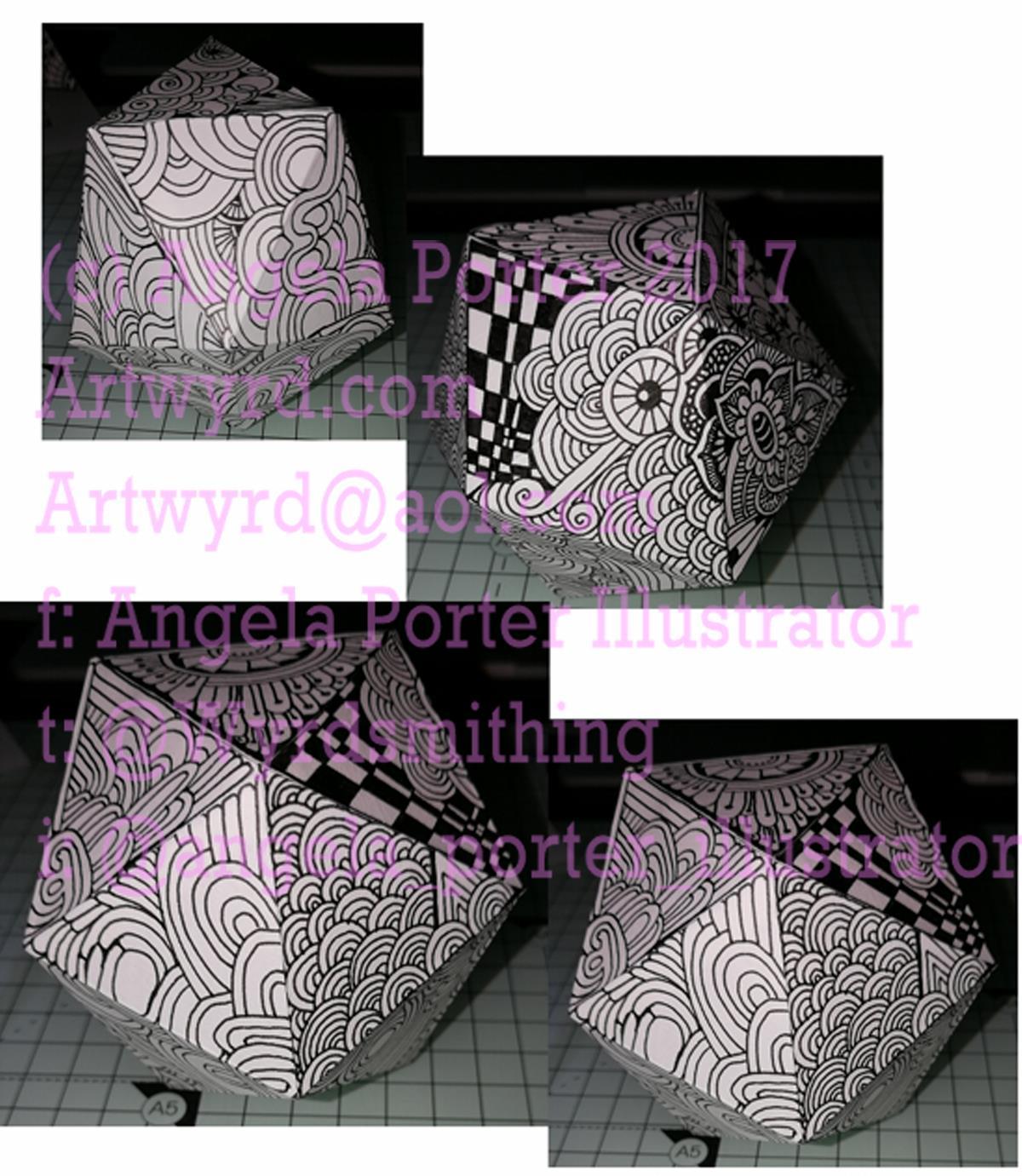 Icosohedron1 montage Angela Porter 19 Sept 2017