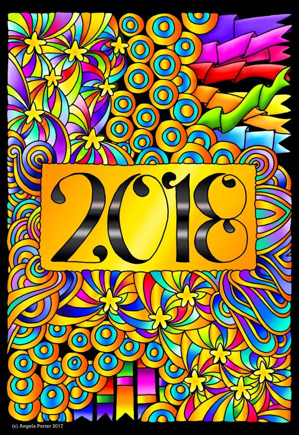 New Year 2018 by Angela Porter