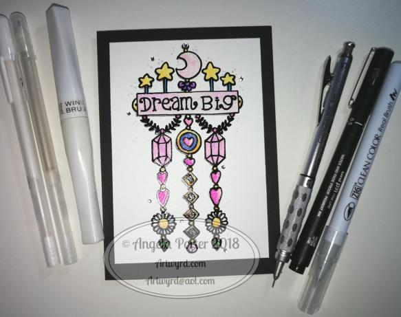 Angela Porter Dream Big Dangle 4 April 2018