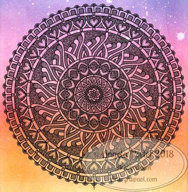 Angela Porter Mandala 17 April 2018
