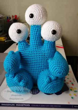 Angela Porter Amigurumi Monster
