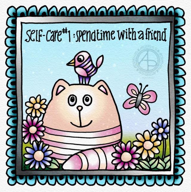 Self-care #1 ©Angela Porter 2019