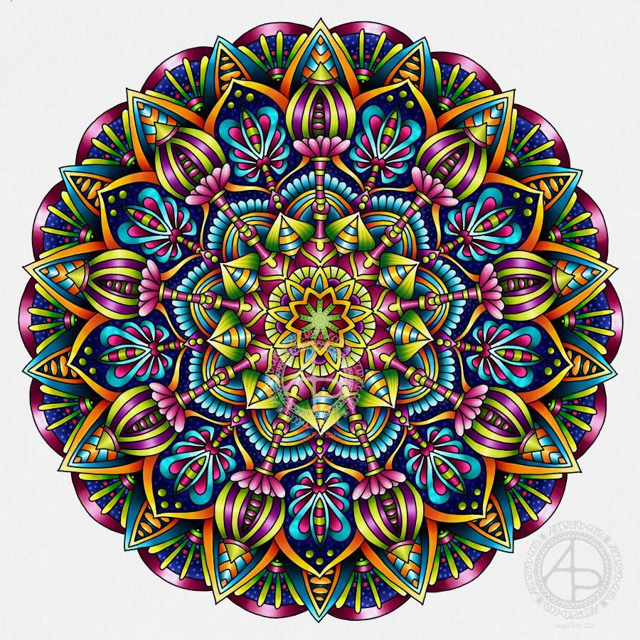 Mandala © Angela Porter 2019