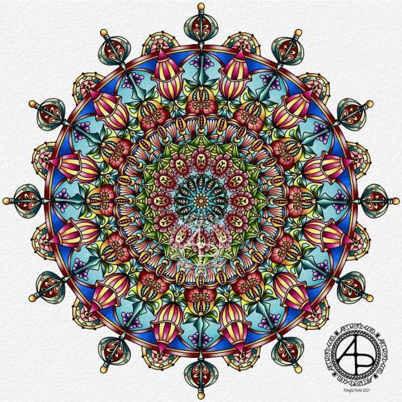 Mandala © Angela Porter 2019 Artwyrd.com