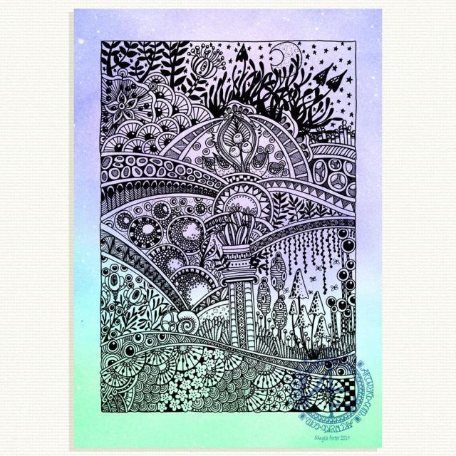 Entangled Landscape © Angela Porter 2019 - Artwyrd.com