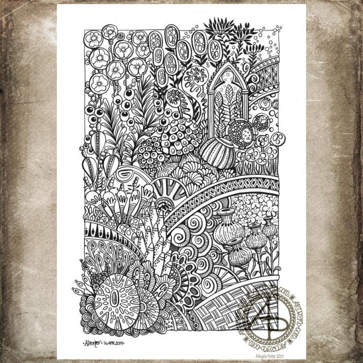 Entangled Garden ©Angela Porter 2019 - Artwyrd.com