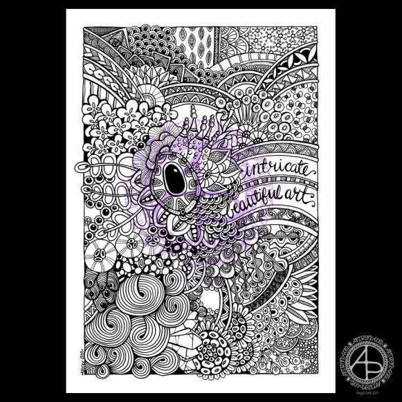 Entangled Art © Angela Porter 2019 Artwyrd.com
