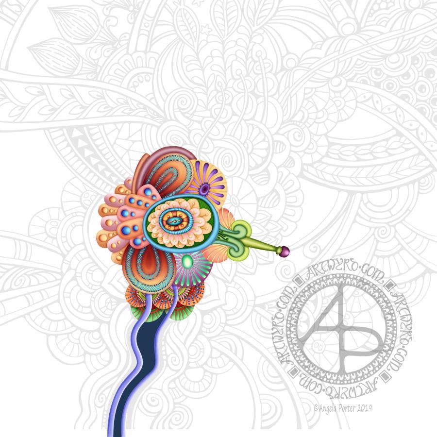Inspiration WIP © Angela Porter | Artwyrd.com
