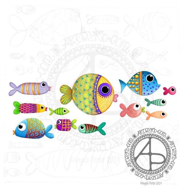 A few more fish © Angela Porter | Artwyrd.com