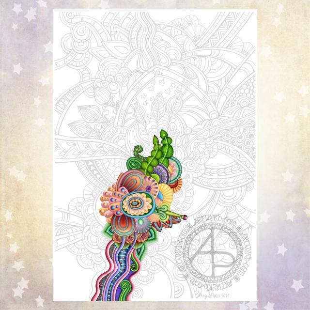 Inspiration WIP ©Angela Porter | Artwyrd.com