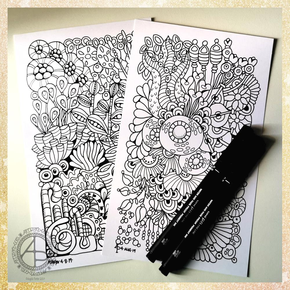 More Reef Illustrations ©Angela Porter - Artwyrd.com