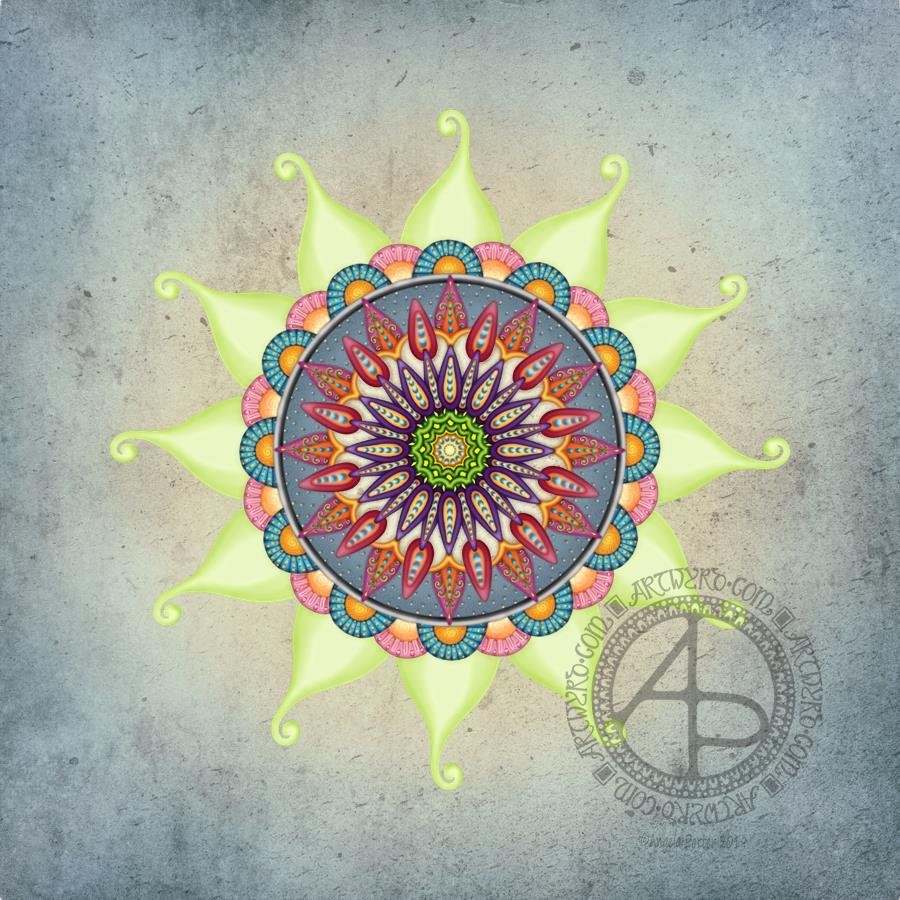 Mandala © Angela Porter | Artwyrd.com