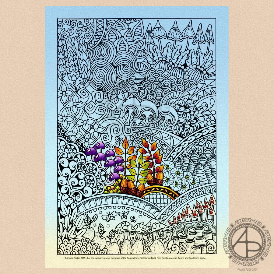 - Coloring Templates – Angela Porter